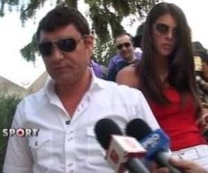 cristi borcea alina vidican 300x250  Lui Borcea nu i mai arde nici de nunta dupa infrangerea suferita aseara de Dinamo