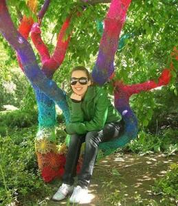 crosetat pomi 259x300 A crosetat un copac din gradina