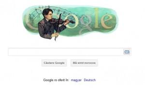 enescu 300x182 George Enescu, omagiat de Google
