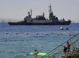 "israeli navy 300x222 Israelul si Iranul isi umfla ""panzele"""