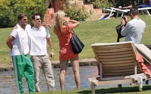 martin 4 copy 300x187 Ricky Martin, vacanta de 18 ore in Sardinia