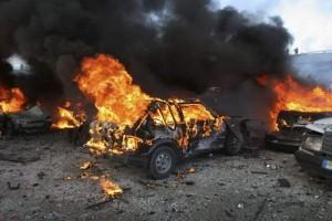 masini arse 300x200 Sase microbuze si doua autoturisme au ars la Buzau