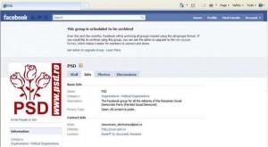 psd pe facebook 300x165 PSD da adunarea pe Facebook contra lui Basescu
