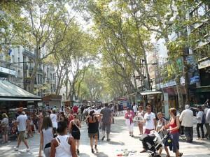 rambla 300x225 Romanii din Barcelona nu mai vor acasa