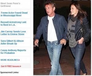 sean penn iubita 300x249 Uite cu cine a inlocuit o Sean Penn pe Scarlett Johansson!