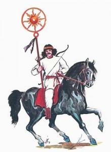 5 parth archer calusar 219x300 Fratia cavalerilor geto daci ai lui Mitra