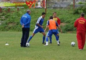 antrenamente la Chirnogi 300x209 Ieri fosta glorie a lui Dinamo, azi navetist la Chirnogi