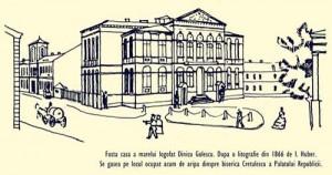 casa lui dinicu golescu 300x158 Misterele catacombelor din Capitala