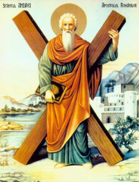 sfantul apostol andrei Sfantul Apostol Andrei, ocrotitorul Romaniei