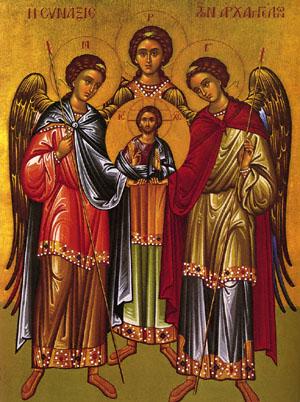 sfintii mihail si gavriil Astazi sunt cinstiti Sfintii Mihail si Gavriil