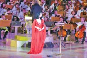 angela 02 300x200 Angela Gheorghiu si Roberto Alagna si au cantat dragostea in Qatar