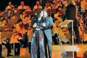 angela 09 300x200 Angela Gheorghiu si Roberto Alagna si au cantat dragostea in Qatar