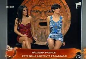 pamfile21 300x206 Madalina Pamfile, noua asistenta a lui Capatos la Un show pacatos!