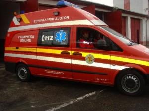 SMURD 300x225 Accident cu trei masini in Capitala