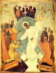 inviere hristos Saptamana Patimilor  Sambata Mare. Coborarea la iad a Mantuitorului