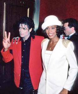 whitney michael 248x300 Whitney Houston l a vrut pe Michael Jackson, dar s a iubit cu fratele Jermaine