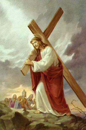 iisus cruce Azi e Duminica Sfintei Cruci