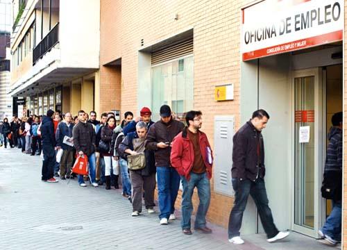 Şomajul a ajuns la un nivel RECORD în Spania