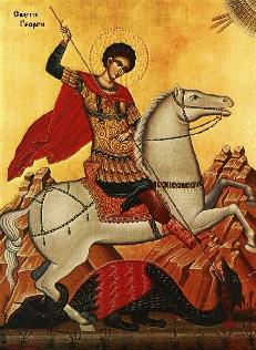 sfantul mucenic gheorghe Sfantul Mucenic Gheorghe, praznuit pe 23 aprilie