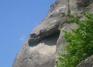 7 capul balaurului 300x217 Calea Zeilor din Cetateni, cel mai misterios loc din Romania  (I)