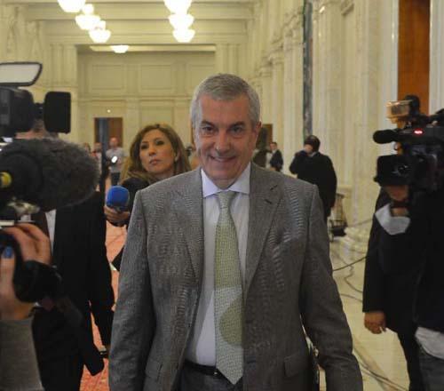 Calin Popescu Tariceanu Motiunea Guvern MRU Narcis Pop 106 Tariceanu anunta retragerea OUG 13: Nu avem nimic de ascuns!