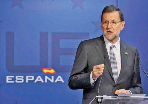 Mariano Rajoy1 Guvernul condus de Rajoy, demis prin motiune de cenzura