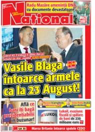03oct Rasfoieste editia tiparita a ziarului NATIONAL