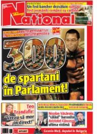 08oct Rasfoieste editia tiparita a ziarului NATIONAL
