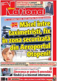 20 noiembrie 2012 Rasfoieste editia tiparita a ziarului NATIONAL