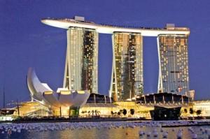 Singapore skyprak 300x199 Singapore, cel mai bogat oras al anului 2050