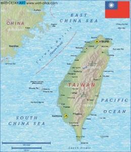 harta Taiwan 259x300 Singapore, cel mai bogat oras al anului 2050