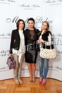 Ana Lucescu Mirela Stelea prietena lui Matei Lucescu1 201x300 Mirela Stelea a convins o pe Andreea Marin sa poarte negru