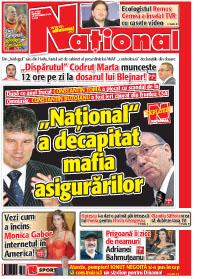 Pag 1 mic7 Rasfoieste editia tiparita a ziarului NATIONAL