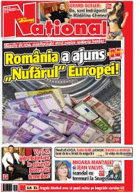Pag 1 mic9 Rasfoieste editia tiparita a ziarului NATIONAL