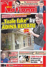 pag 1 mic3 Rasfoieste editia tiparita a ziarului NATIONAL