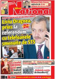 pag01mic3 Rasfoieste editia tiparita a ziarului NATIONAL