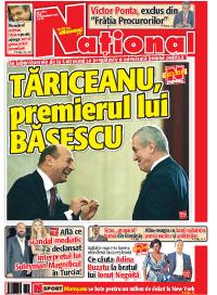 pag01mic4 Rasfoieste editia tiparita a ziarului NATIONAL