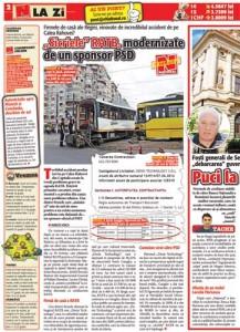 pag02mic 217x300 Sponsorul PSD Sorin Gangler, contracte cu RATB de 1,3 milioane euro pentru usi de tramvaie