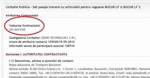 ratb2 300x157 Sponsorul PSD Sorin Gangler, contracte cu RATB de 1,3 milioane euro pentru usi de tramvaie