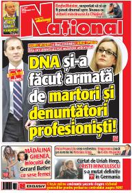 Pag 1 mic13 Rasfoieste editia tiparita a ziarului NATIONAL