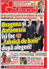 pag 1 mic5 Rasfoieste editia tiparita a ziarului NATIONAL
