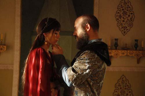 """... ale lui """"Suleyman Magnificul"""" de pe platourile de filmare"""