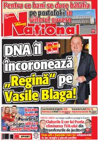 Pag 1 mic4 Rasfoieste editia tiparita a ziarului NATIONAL