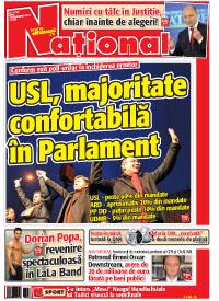 pag 1 mic2 Rasfoieste editia tiparita a ziarului NATIONAL