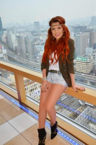 Elena Gheorghe Tokyo 198x300 Uite ce Mickey Mouse are Elena Gheorghe!
