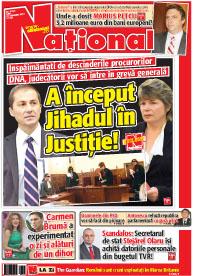 Pag 1 mic10 Rasfoieste editia tiparita a ziarului NATIONAL