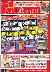 Pag 1 mic8 Rasfoieste editia tiparita a ziarului NATIONAL
