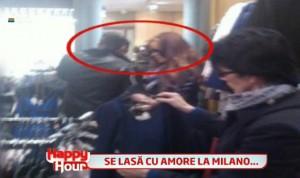 bianca victor slav 300x178 Bianca Dragusanu si Victor Slav, surprinsi impreuna la Milano!   FOTO
