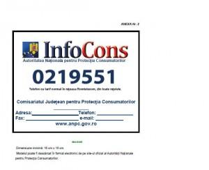 placheta Protectia Consumatorului 300x244 Nou telefon pentru reclamatii la Protectia Consumatorului