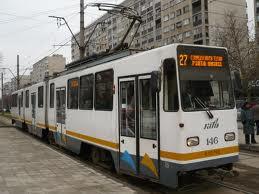 tramvaiul 27 Barbat lovit de tramvai, in Capitala